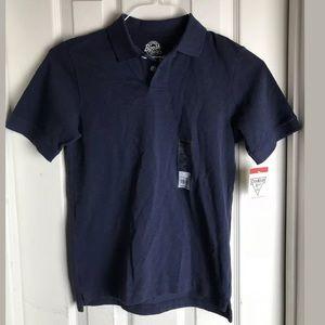 Oshkosh B'gosh Boys' NAVY Pique Polo Shirt Size 10